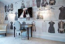 Aménagement de chambre pour ado autour de la mode