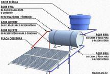 aquecimento solar e energia solar