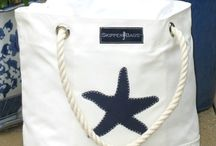 Beach Bags / Beach Bags | Designer beachwear, coverups, summer dresses & casual fashion for women • stylish outfits equally at home on the beach & at lunch | Shop @ NudzBeachwear.com
