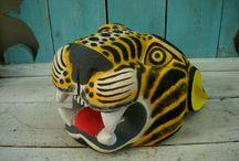 Tribal - Masks - Wooden