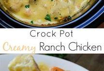 Crock pot / Poulet