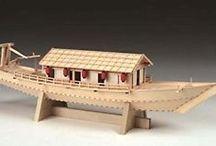 Concept- Japanese woodenn boat