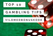 Online gambling tips / Tips til hvordan du kan blive en bedre online gambler!
