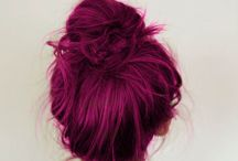 Purple Violet Hair