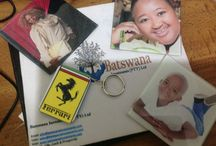 Batswana Creations / We sell the following branded products, T Shirts Mugs Mousepads Calendars Pen Coasters Keyrings