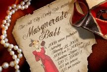 Masquerade Holiday Party Inspiration / Corporate Holiday Party