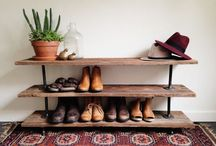 Shoes rack storage