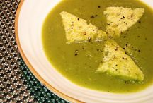 CREAMY BROCCOLI SOUP ROMAN STYLE  gluten free /  Gluten and Dairy free, this soup is a great example of how to make a rich and thick soup without the use of flour or cream.  Kitchen Wisdom Gluten Free Creamy Broccoli Soup Recipe  http://kitchenwisdomglutenfree.com/2014/05/03/creamy-broccoli-soup-roman-style-gluten-free-forget-what-you-know-about-wheatc-2014/