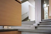 staircases.