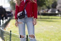 Jeans / Looks, peças e acessórios jeans.