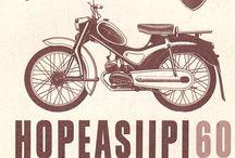 mopedit ja moottoripyörät