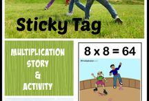 8's multiplication fact family / Tools and resources for teaching and learning the multiples of 8.