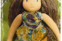 SEVENCOLOR waldorf doll