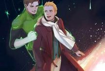 DC Comics halbarry