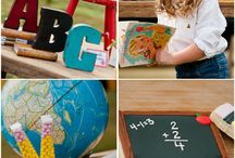 "Back to School Celebration / Some ""Back to School"" party and event inspiration!"