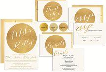 Wedding Stationary / Wedding Invitations, Wedding Signs, Wedding Menus, Wedding Stationary