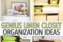 Home Organisation Inspiration / Keeping all rooms in a home organised is almost essential to run it effectively. These are my favourite home organisation ideas and inspirations.