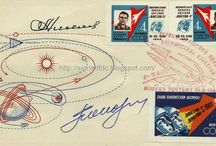 Space travel: posters, stamps & illustrations