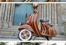 Wood Scooter / Wood Scooter