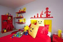 Lego bedroom..