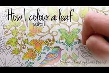 Mindfulness colouring inspiration