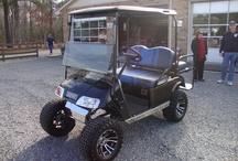 Hartfield Volunteer Fire Department raffle golf cart