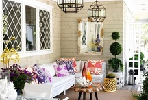 pretty porches and patios