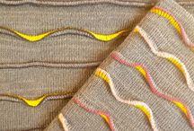 machine knitted
