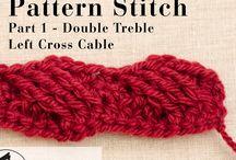 F.C.W. STITCHES / Freeform Crochet World Group Crochet stitches used in freeform crochet