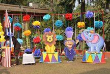 decoración circo