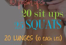 Exercises to try / by Sienna Rouse
