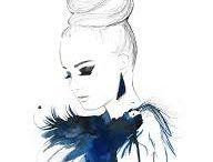 Fashion illustrations  ✏️✨