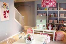 Rec Room Inspiration / Inspiring rec room decor, basement decor, kids play areas and man caves