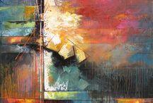 Abstraktna malba