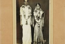 Hindus in old photographs / Black and white photos from old photografer (southern India)