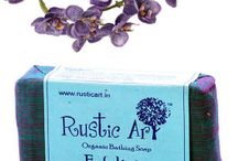#Bath by #RusticArt / Rustic Art, a premium Indian brand of certified organic, natural, biodegradable body care products.