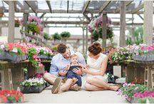 Greenhouse family photo session ideas