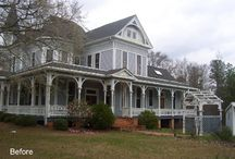 Historical Projects / Before and after pictures of coatings on historic homes.  Our coatings have restored these homes to give them the value they deserve.
