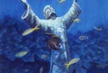 My Marine life Paintings ( Jennifer Belote ) / These are sea life paintings by me, jennifer belote.    www.UnderwaterPaintingsandArt.com