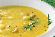 Keltaiset ruuat - Yellow dishes