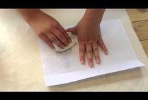 Art – Transferring designs to fabric/wood
