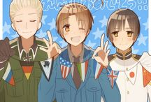 Hetalia [Group] / Keep it clean! Comment on a recent pin if you wish to receive an invite