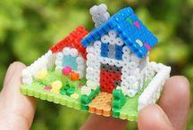 Hama Maisons de poupée Perler Beads