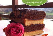 Postres caseros / homemade desserts / Cottage in north of Spain