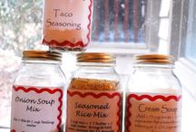 Mixes and seasonings / by Pam Barnette