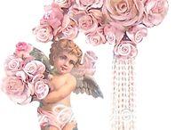 Imagens e flores