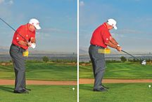 Golf Downswing / Discover the secret to making a great golf downswing and making great contact with the golf ball. Learn the right positions to be in that guarantee better golf and lower scores.