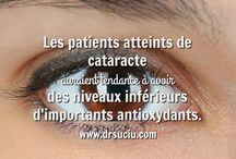 La cataracte / La thérapie orthomoléculaire en cas de cataracte.