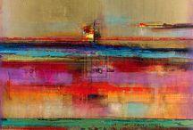 Art Abstrait / Abstraction en peinture, mixed media, sculpture tous supports