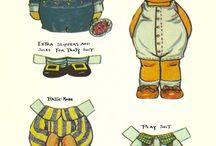 Aankleedpoppen/paperdolls